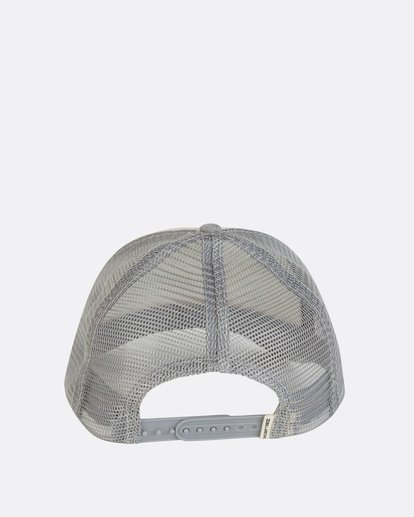 3 Pitstop Trucker Hat Grey JAHT7PIT Billabong