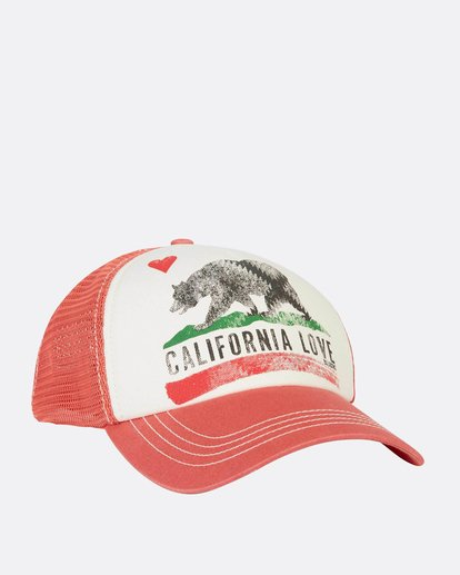 2 Pitstop Trucker Hat Orange JAHT7PIT Billabong
