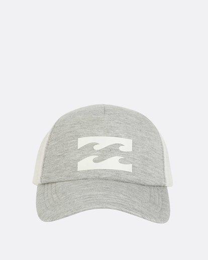 1 Billabong Trucker Hat Grey JAHTDBIL Billabong