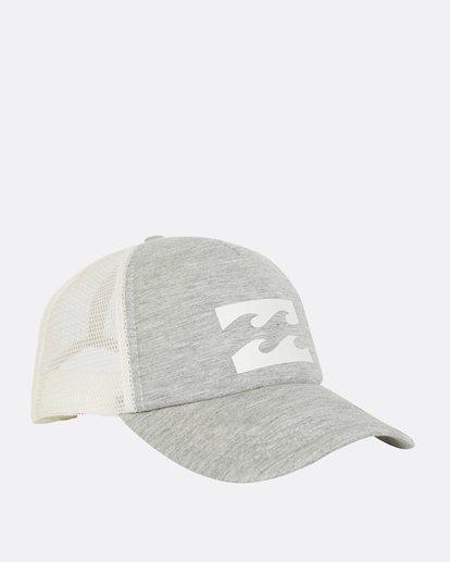 2 Billabong Trucker Hat Grey JAHTDBIL Billabong