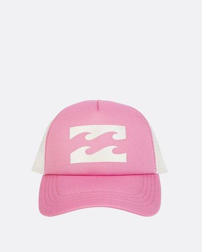 1 Billabong Trucker Hat Pink JAHTDBIL Billabong