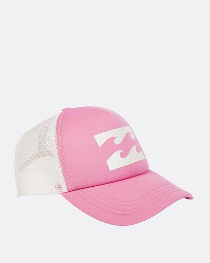 2 Billabong Trucker Hat Pink JAHTDBIL Billabong