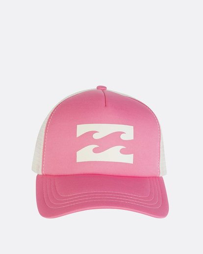 1 Billabong Trucker Hat Pink JAHTDBIL Billabong