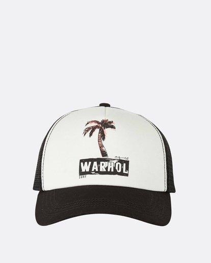 1 Warholsurf Holly Trucker Hat Black JAHTLHOL Billabong