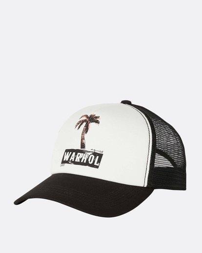 0 Warholsurf Holly Trucker Hat Black JAHTLHOL Billabong