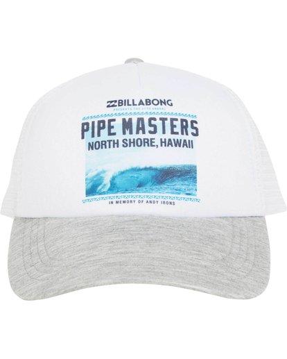 1 Pipe Master Poster Trucker Hat  JAHTMPIS Billabong