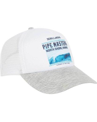 2 Pipe Master Poster Trucker Hat  JAHTMPIS Billabong