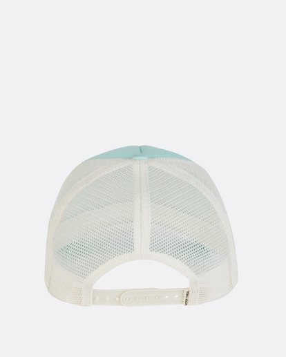 3 Across Waves Trucker Hat Green JAHWNBAC Billabong