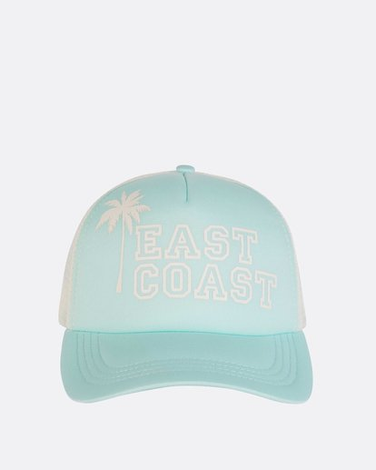1 Across Waves Trucker Hat Green JAHWNBAC Billabong