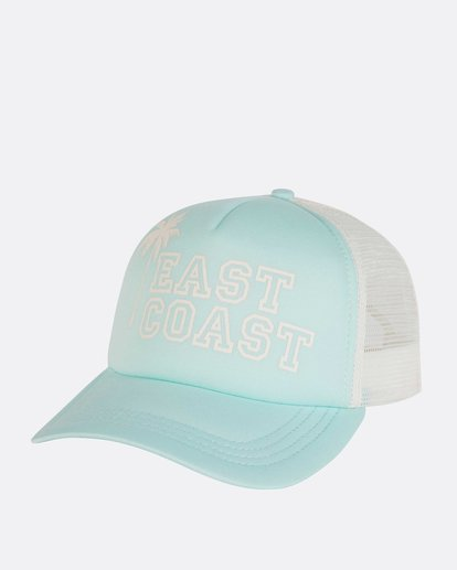 0 Across Waves Trucker Hat Green JAHWNBAC Billabong
