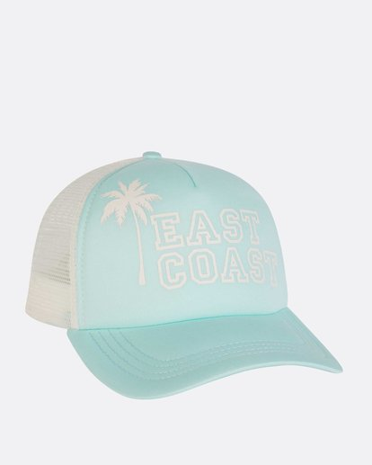 2 Across Waves Trucker Hat Green JAHWNBAC Billabong