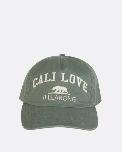 1 Surf Club Baseball Cap Green JAHWNBSU Billabong