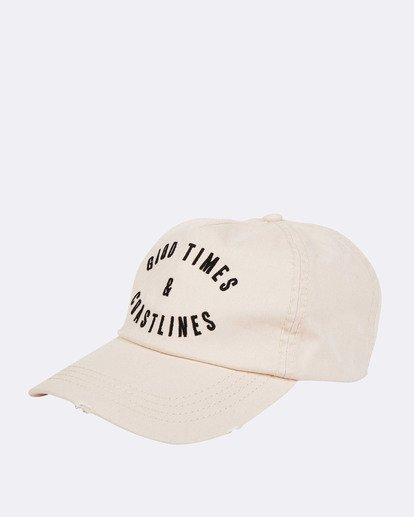 0 Surf Club Baseball Cap White JAHWNBSU Billabong