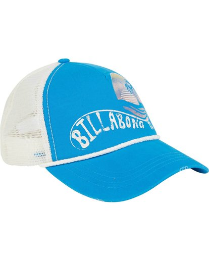 2 Radical Dude Trucker Hat Blue JAHWPBRA Billabong
