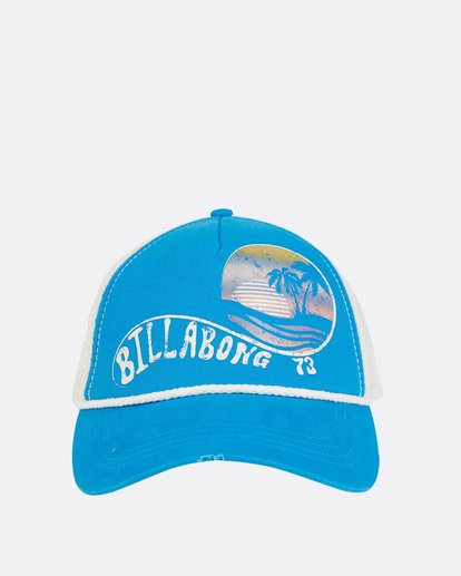 5 Radical Dude Trucker Hat Blue JAHWPBRA Billabong