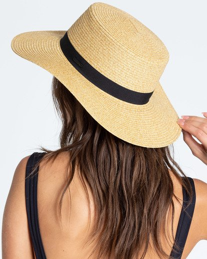 1 Aboat Time Straw Hat  JAHWQBAB Billabong