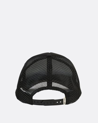 3 Across Waves Trucker Hat Black JAHWQBAC Billabong