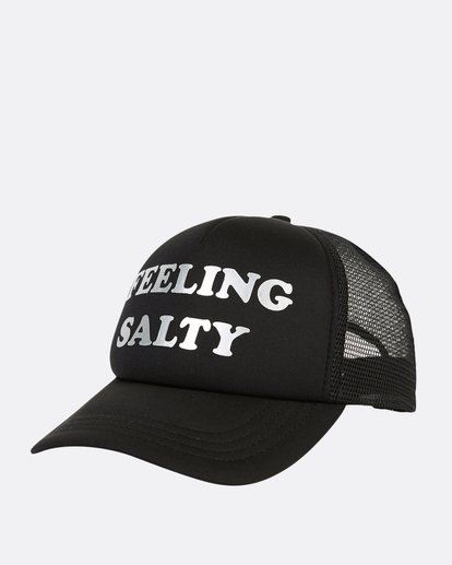 0 Across Waves Trucker Hat Black JAHWQBAC Billabong