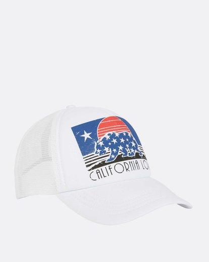 2 Across Waves Trucker Hat White JAHWQBAC Billabong