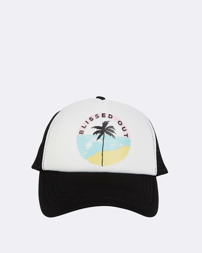 1 Across Waves Trucker Hat Blue JAHWQBAC Billabong