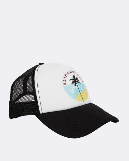 2 Across Waves Trucker Hat Blue JAHWQBAC Billabong