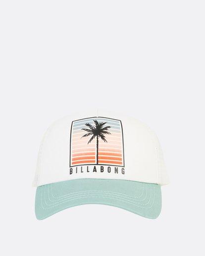 1 Aloha Forever Trucker Hat Blue JAHWQBAL Billabong