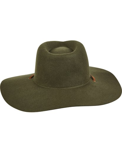 2 On The Rocks Felt Hat Green JAHWQBON Billabong
