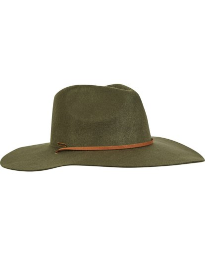 3 On The Rocks Felt Hat Green JAHWQBON Billabong