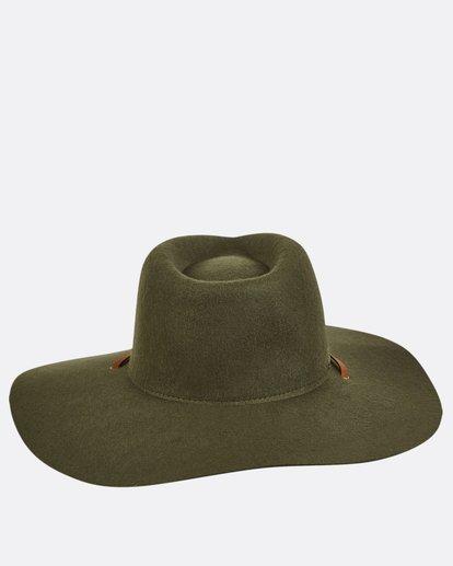 5 On The Rocks Felt Hat Green JAHWQBON Billabong