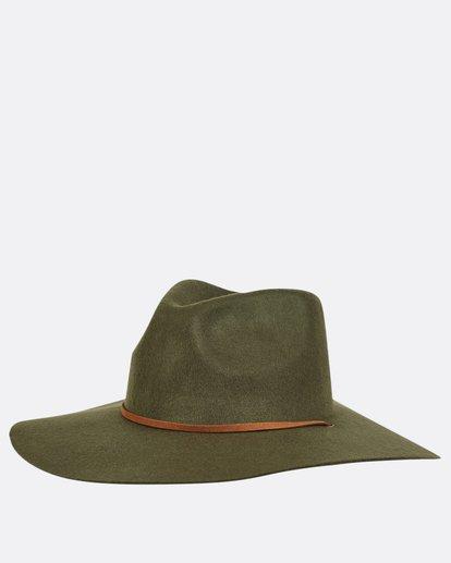 4 On The Rocks Felt Hat Green JAHWQBON Billabong