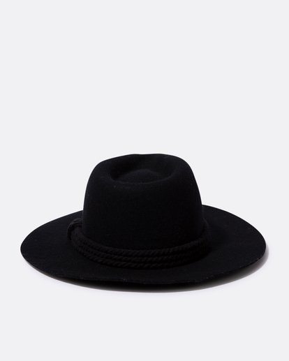 3 Roped In Felt Hat Black JAHWSBRO Billabong