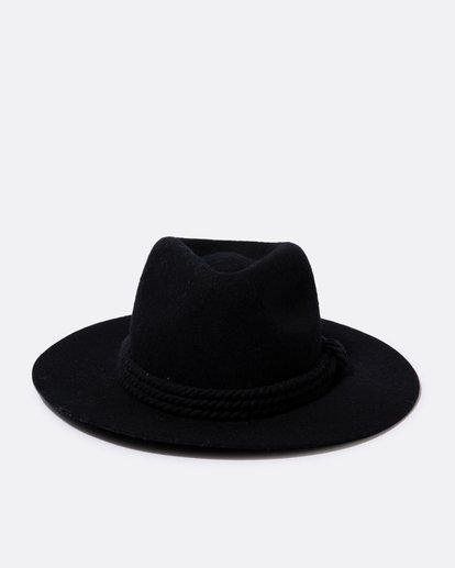 1 Roped In Felt Hat Black JAHWSBRO Billabong