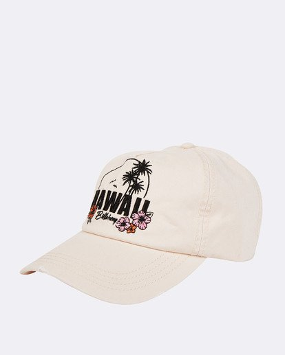 0 Surf Local Canvas Hat White JAHWTBSU Billabong