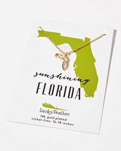 0 Florida Sunshine Necklace  JAJWXBFL Billabong