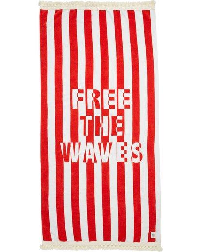 4 Lay It On Me Towel Red JATWPBLA Billabong