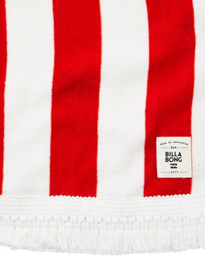 5 Lay It On Me Towel Red JATWPBLA Billabong