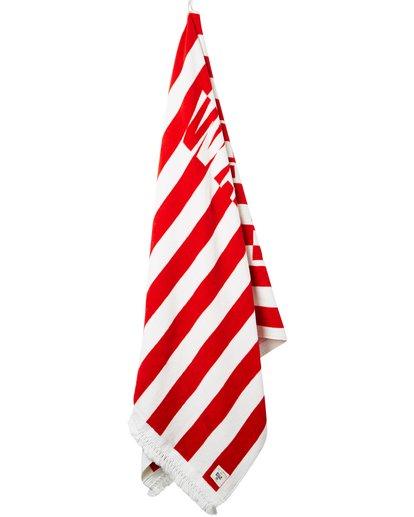6 Lay It On Me Towel Red JATWPBLA Billabong