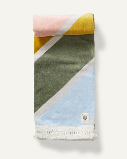 1 In Ur Dreams Beach Towel Red JATWSBIN Billabong