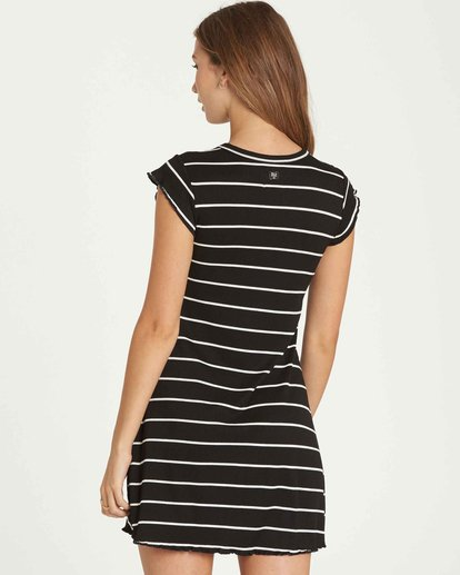 2 Right Move Mini Dress Black JD01QBRI Billabong