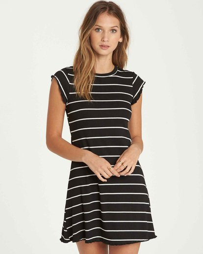 0 Right Move Mini Dress Black JD01QBRI Billabong