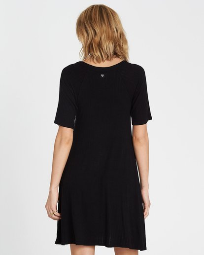 2 Hide Away Knit Dress Black JD01SBHI Billabong