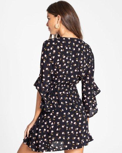 2 Love Light Mini Dress Black JD02TBLO Billabong