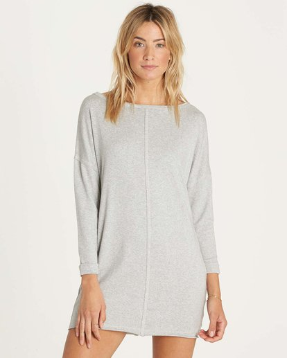 0 Only One Dress Grey JD04NBON Billabong