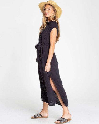 1 Little Flirt Maxi Dress Black JD04TBLI Billabong