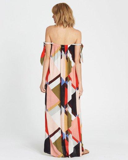 6 Rainbow Gate Printed Maxi Dress  JD06SBRA Billabong