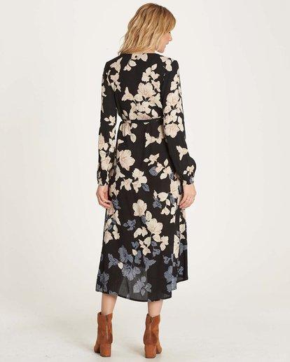 2 Floral Fever Dress Black JD13MFLO Billabong