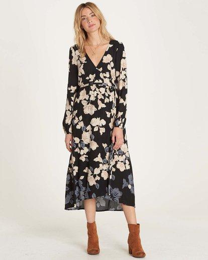 0 Floral Fever Dress Black JD13MFLO Billabong