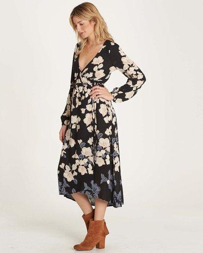 1 Floral Fever Dress Black JD13MFLO Billabong