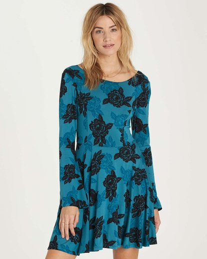 0 Steal Time Dress Blue JD14MSTE Billabong