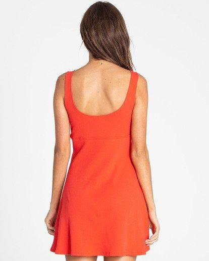 2 Hola Holiday Knit Dress Red JD14TBHO Billabong